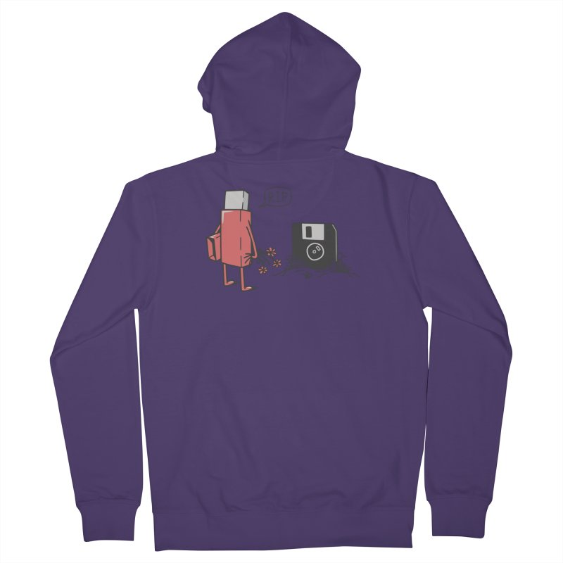 RIP FLOPPY Women's French Terry Zip-Up Hoody by gotoup's Artist Shop