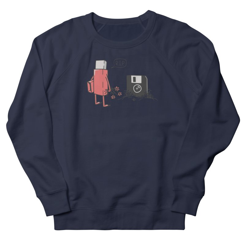RIP FLOPPY Women's French Terry Sweatshirt by gotoup's Artist Shop