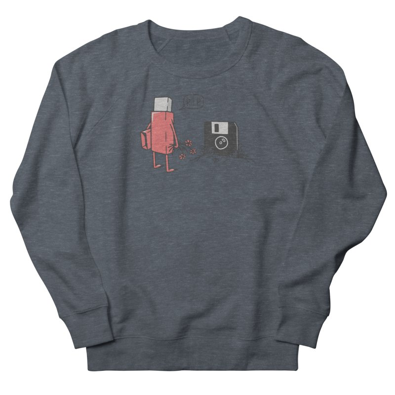 RIP FLOPPY Men's French Terry Sweatshirt by gotoup's Artist Shop