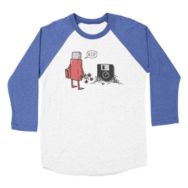 RIP FLOPPY Men's Baseball Triblend Longsleeve T-Shirt by gotoup's Artist Shop