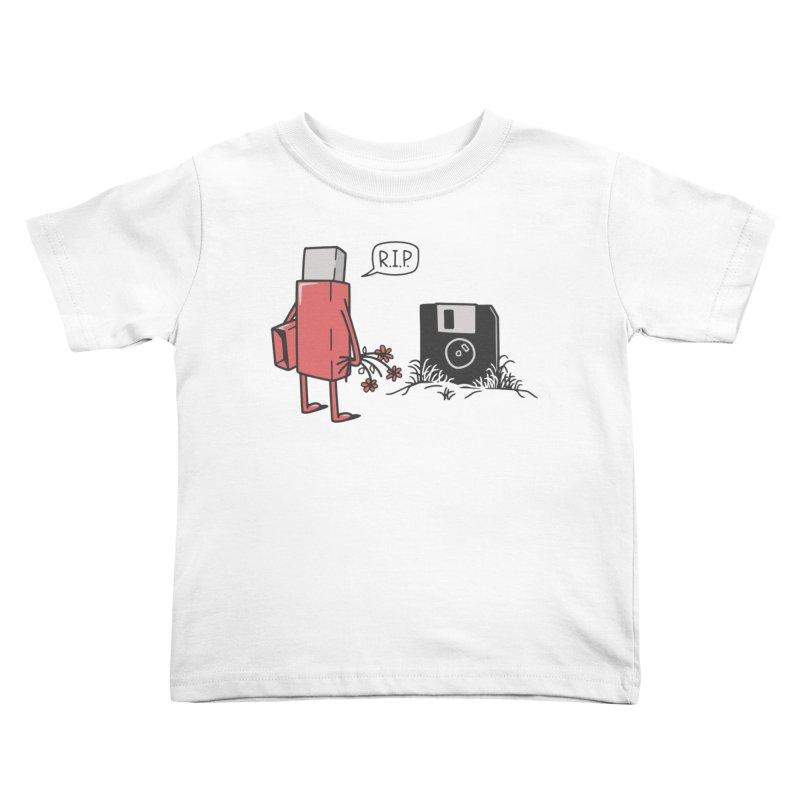 RIP FLOPPY Kids Toddler T-Shirt by gotoup's Artist Shop