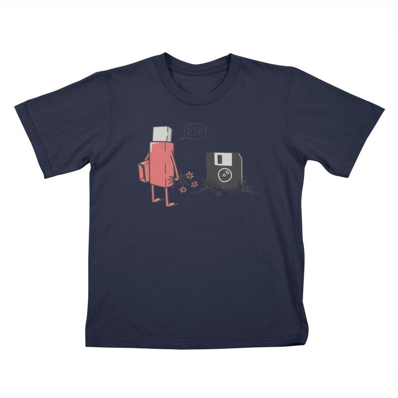 RIP FLOPPY Kids T-Shirt by gotoup's Artist Shop