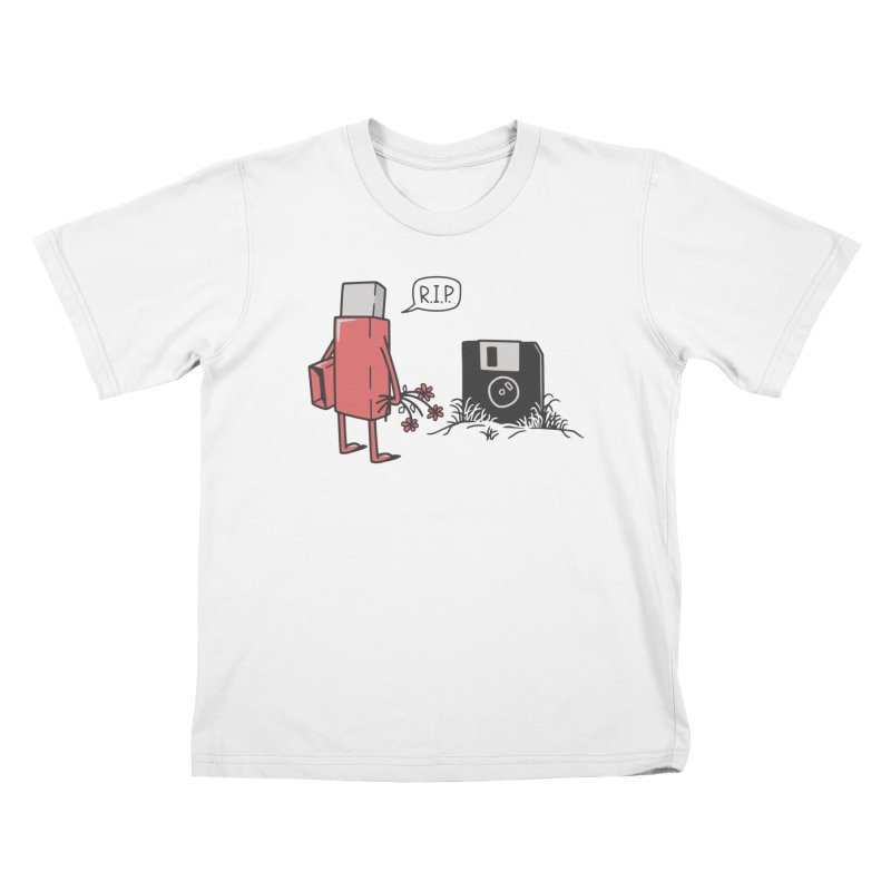 RIP FLOPPY Kids T-Shirt by gotoup's Artist Shop