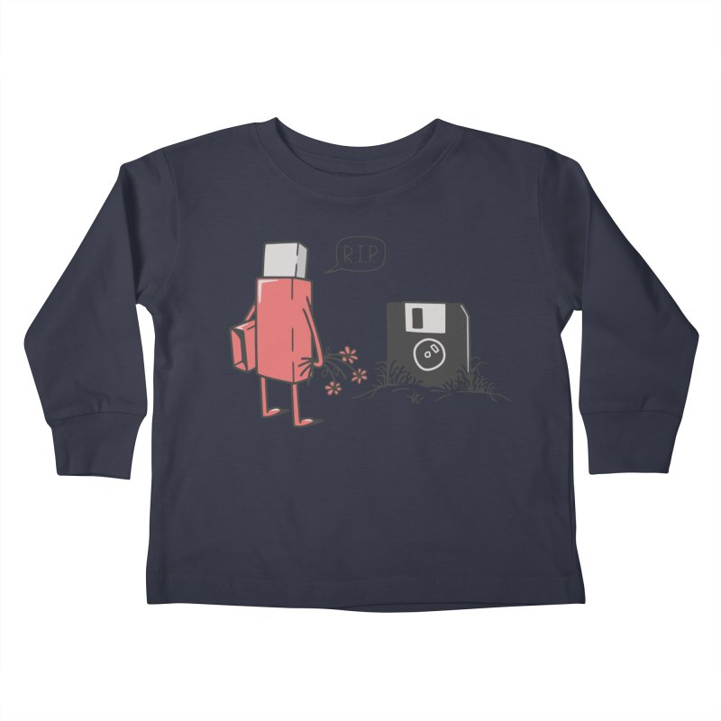 RIP FLOPPY Kids Toddler Longsleeve T-Shirt by gotoup's Artist Shop