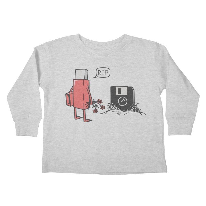 RIP FLOPPY Kids Toddler Longsleeve T-Shirt by gotoup's Artist Shop