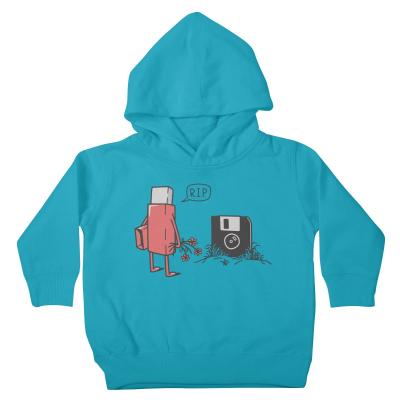 RIP FLOPPY Kids Toddler Pullover Hoody by gotoup's Artist Shop