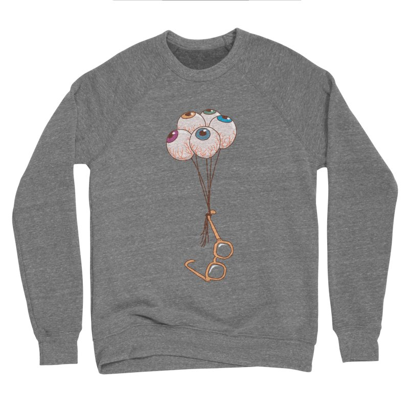 FLYING GLASSES Men's Sponge Fleece Sweatshirt by gotoup's Artist Shop