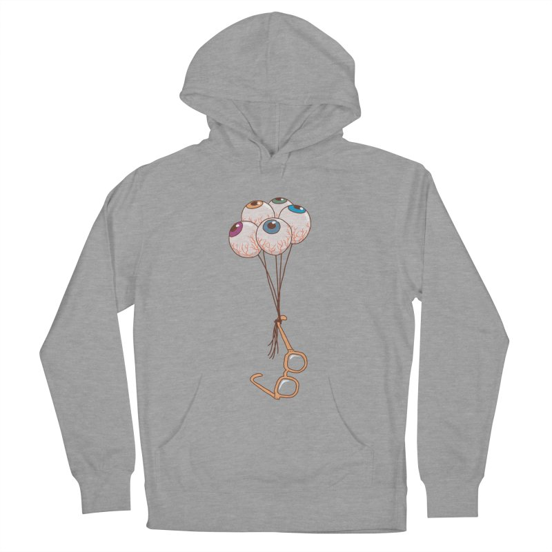FLYING GLASSES Women's French Terry Pullover Hoody by gotoup's Artist Shop