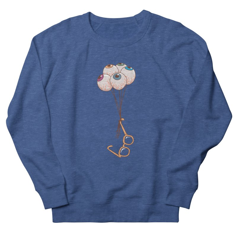 FLYING GLASSES Women's French Terry Sweatshirt by gotoup's Artist Shop