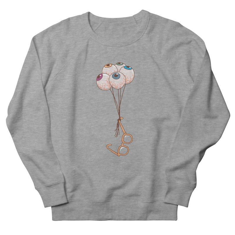 FLYING GLASSES Men's French Terry Sweatshirt by gotoup's Artist Shop