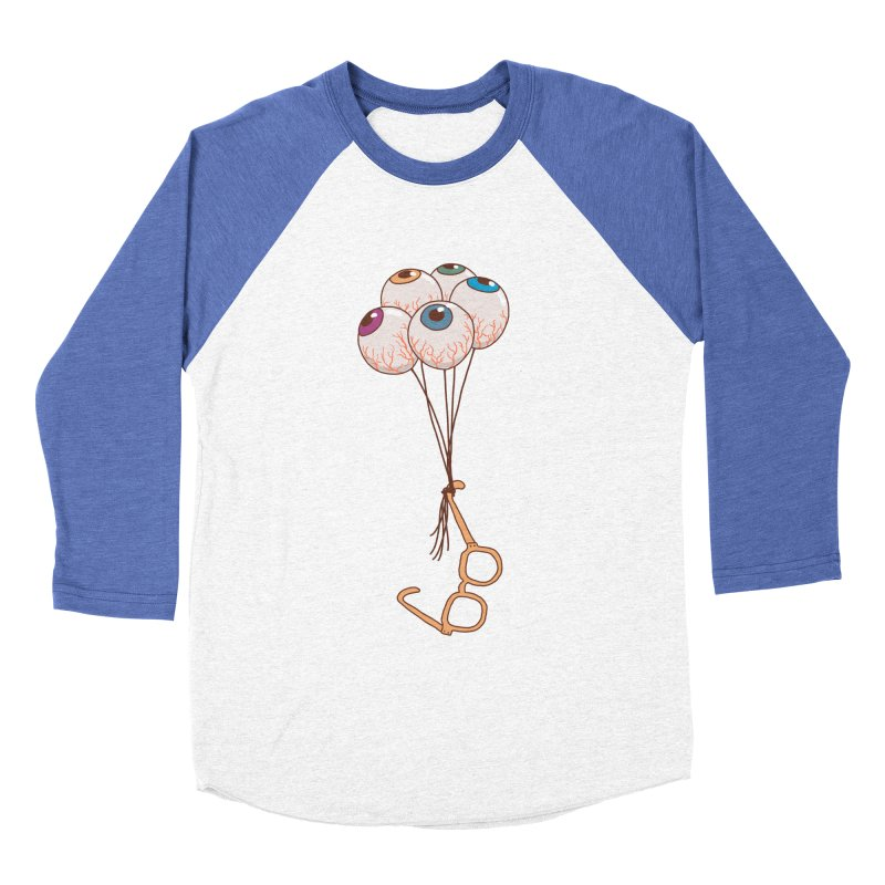 FLYING GLASSES Men's Baseball Triblend Longsleeve T-Shirt by gotoup's Artist Shop