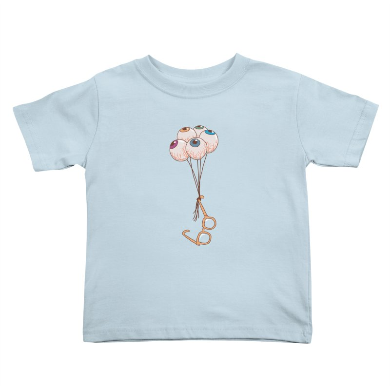 FLYING GLASSES Kids Toddler T-Shirt by gotoup's Artist Shop