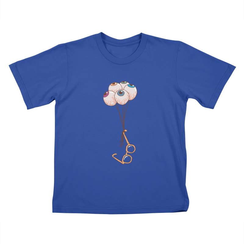 FLYING GLASSES Kids T-Shirt by gotoup's Artist Shop