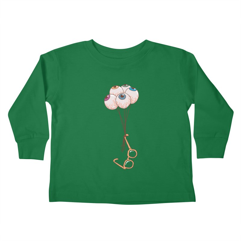 FLYING GLASSES Kids Toddler Longsleeve T-Shirt by gotoup's Artist Shop