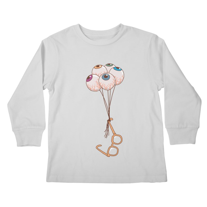 FLYING GLASSES Kids Longsleeve T-Shirt by gotoup's Artist Shop