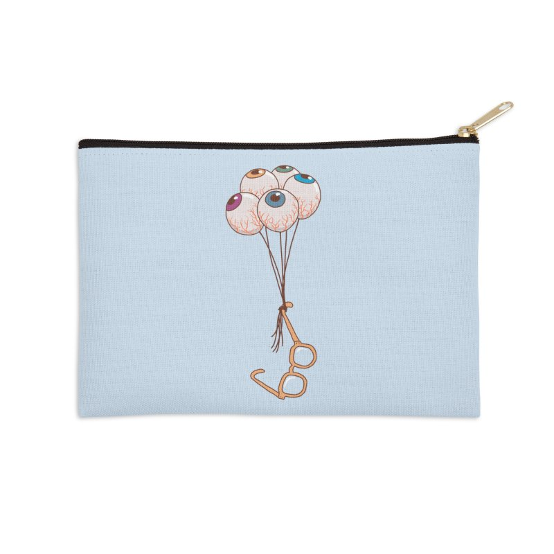 FLYING GLASSES Accessories Zip Pouch by gotoup's Artist Shop