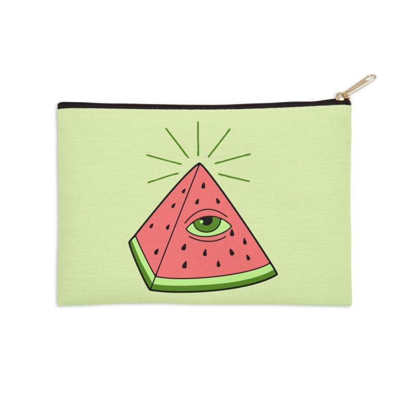 Watermelon Accessories Zip Pouch by gotoup's Artist Shop