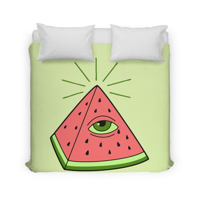 Watermelon Home Duvet by gotoup's Artist Shop
