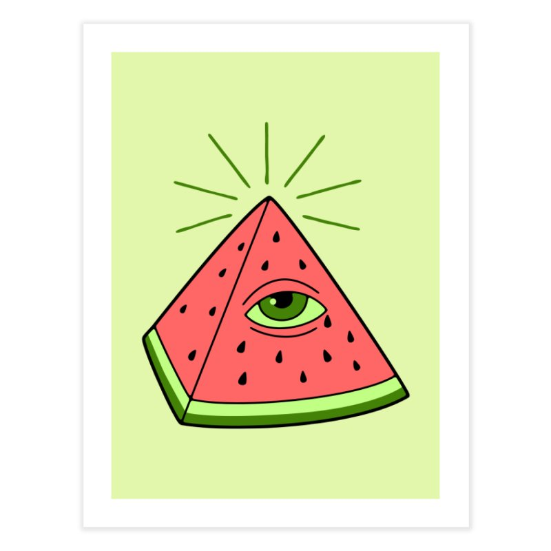 Watermelon Home Fine Art Print by gotoup's Artist Shop