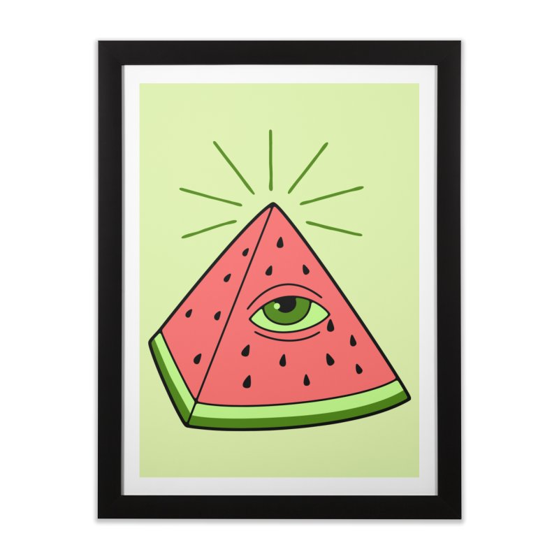 Watermelon Home Framed Fine Art Print by gotoup's Artist Shop