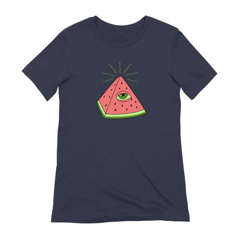 Watermelon Women's Extra Soft T-Shirt by gotoup's Artist Shop