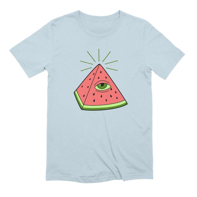 Watermelon Men's Extra Soft T-Shirt by gotoup's Artist Shop