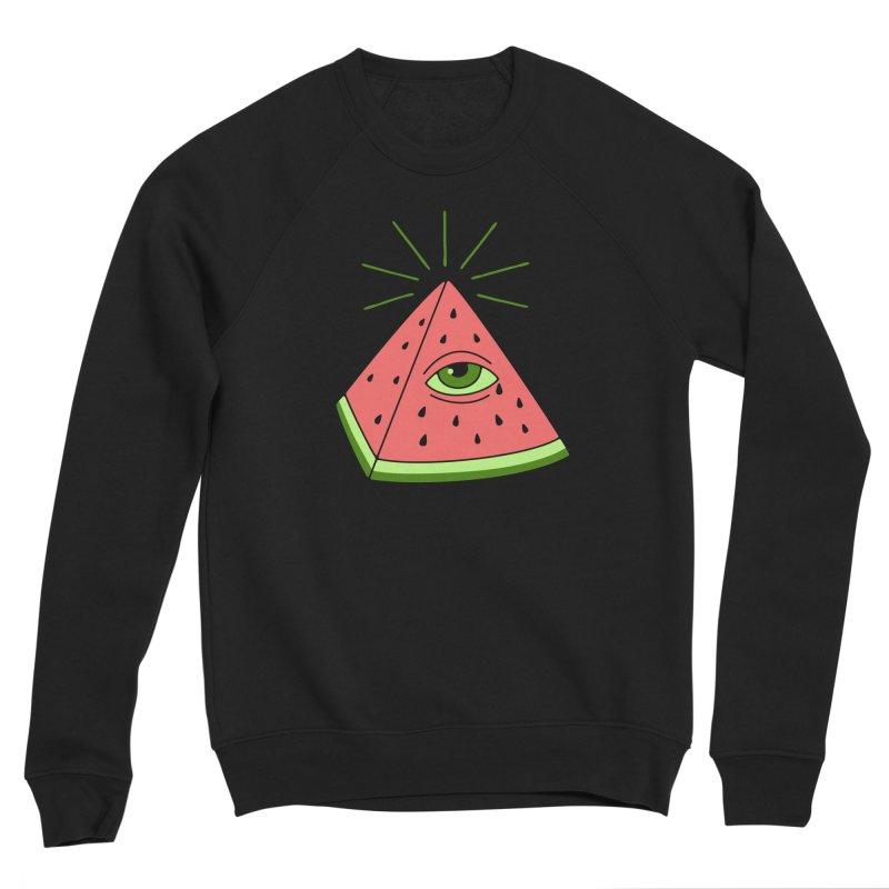 Watermelon Men's Sponge Fleece Sweatshirt by gotoup's Artist Shop