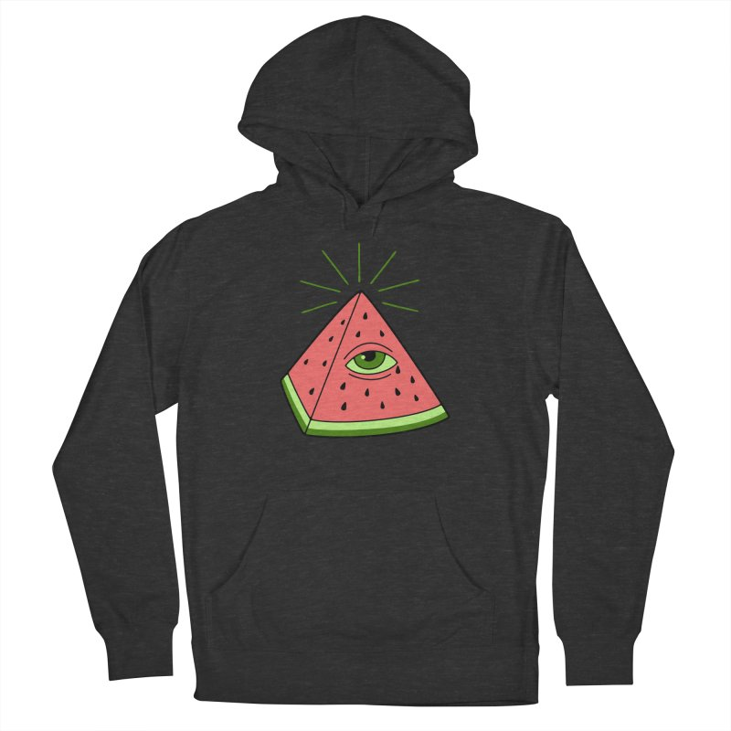 Watermelon Women's French Terry Pullover Hoody by gotoup's Artist Shop