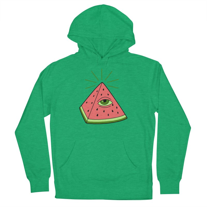 Watermelon Men's French Terry Pullover Hoody by gotoup's Artist Shop
