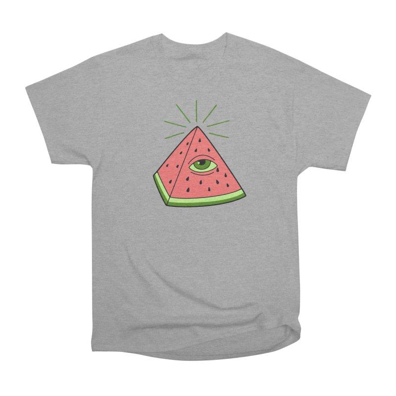 Watermelon Women's Heavyweight Unisex T-Shirt by gotoup's Artist Shop