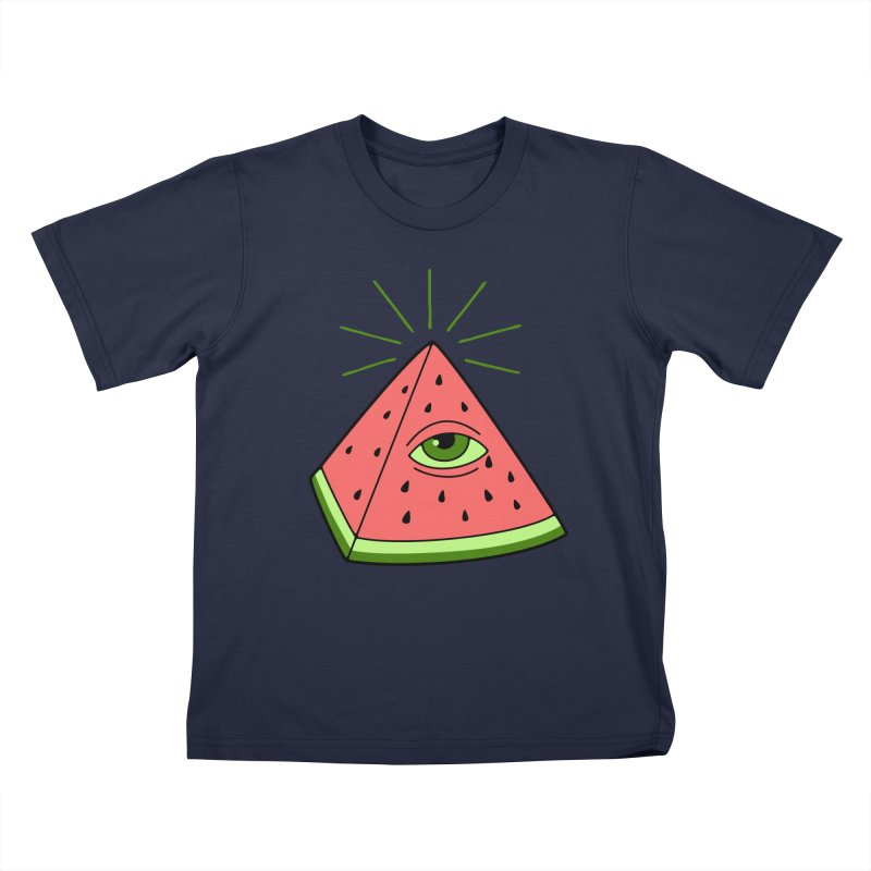 Watermelon Kids T-Shirt by gotoup's Artist Shop