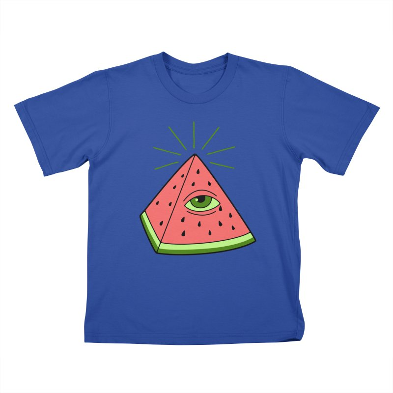 Watermelon Kids T-Shirt by gotoup's Artist Shop