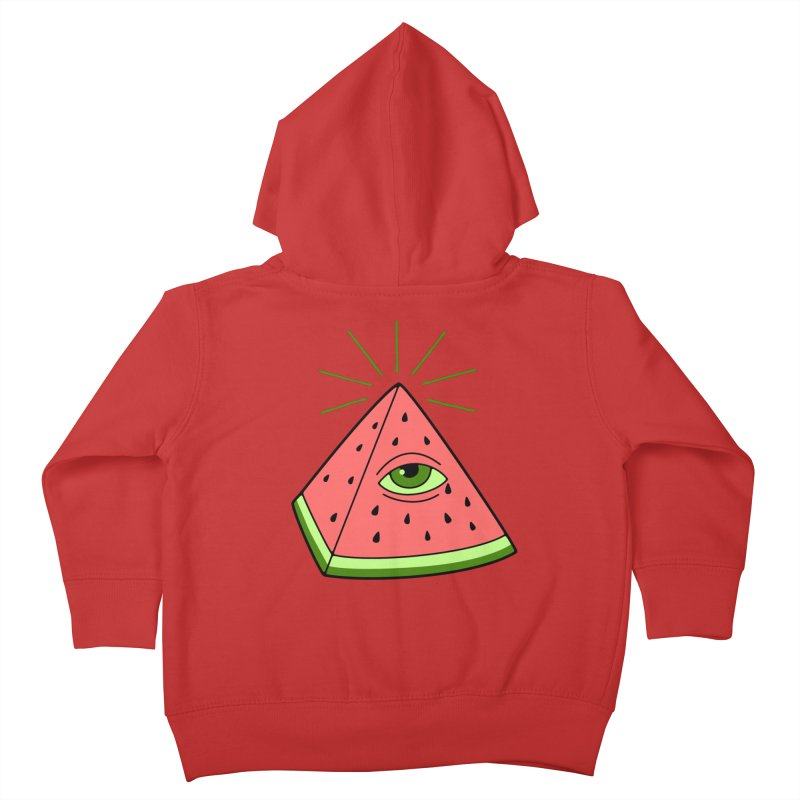 Watermelon Kids Toddler Zip-Up Hoody by gotoup's Artist Shop