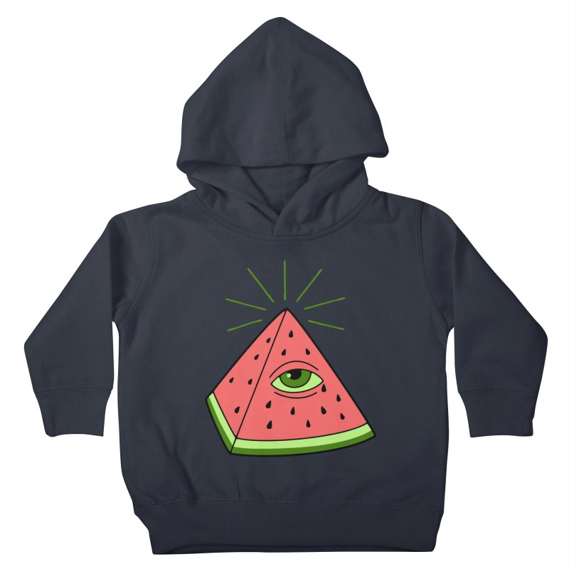 Watermelon Kids Toddler Pullover Hoody by gotoup's Artist Shop
