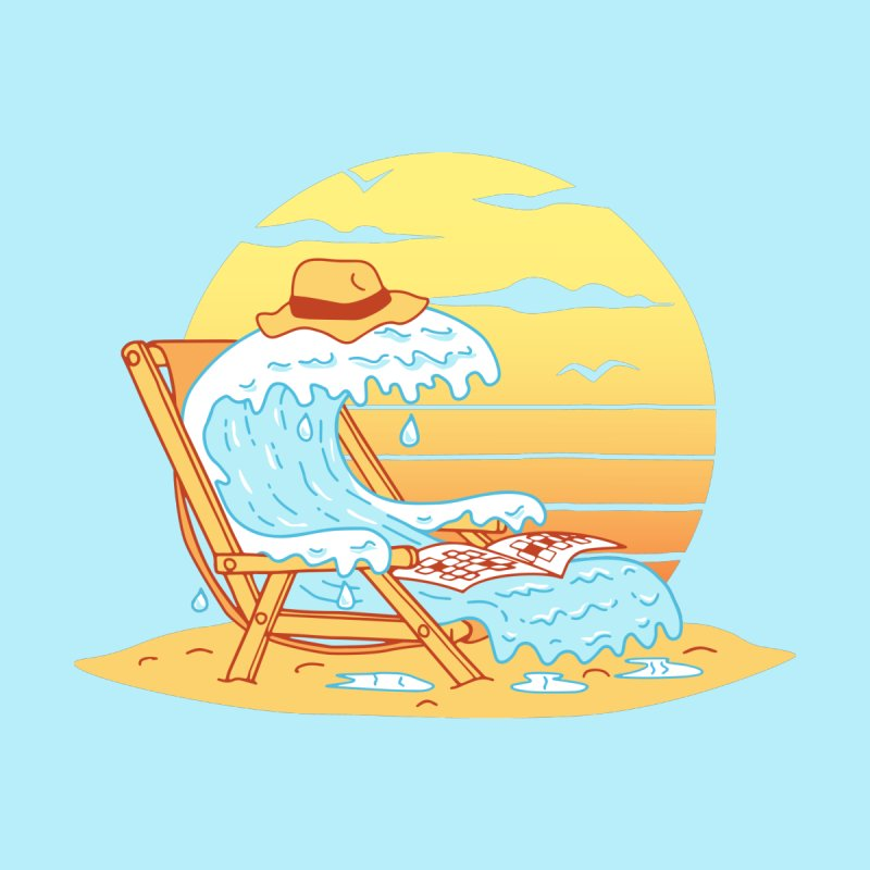 WAVE ON THE BEACH by gotoup's Artist Shop
