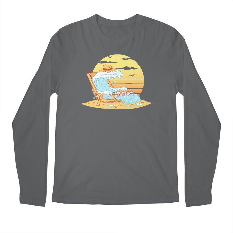 WAVE ON THE BEACH Men's Regular Longsleeve T-Shirt by gotoup's Artist Shop