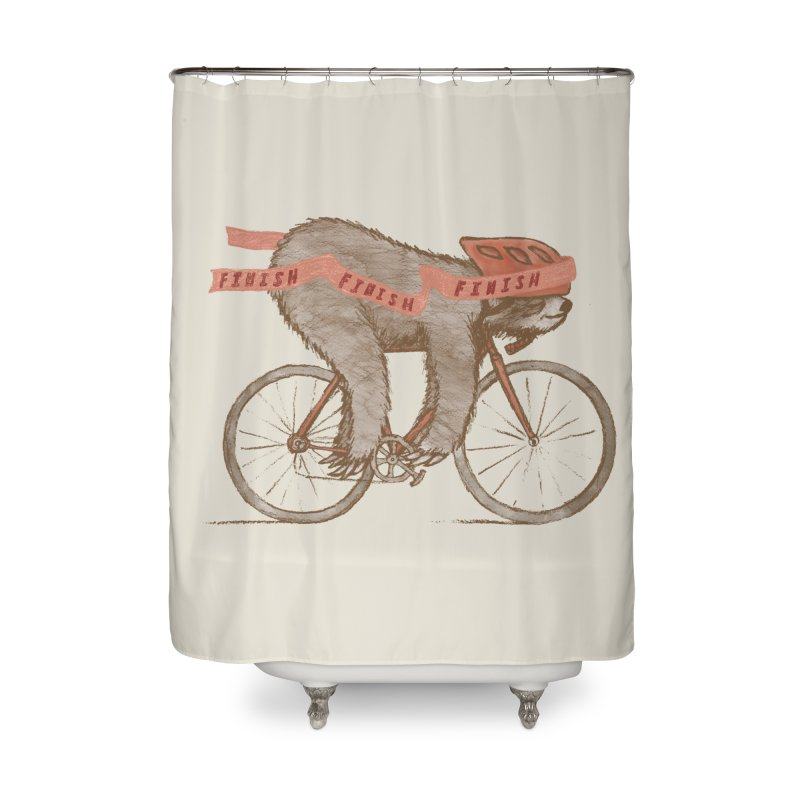 FINISH Home Shower Curtain by gotoup's Artist Shop