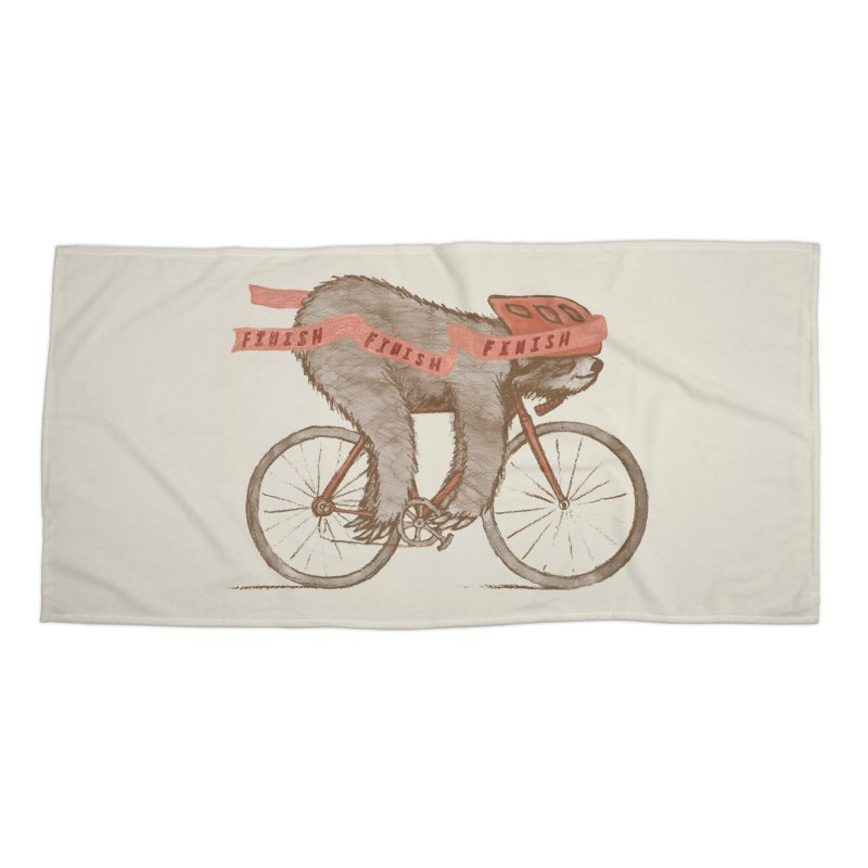 FINISH Accessories Beach Towel by gotoup's Artist Shop
