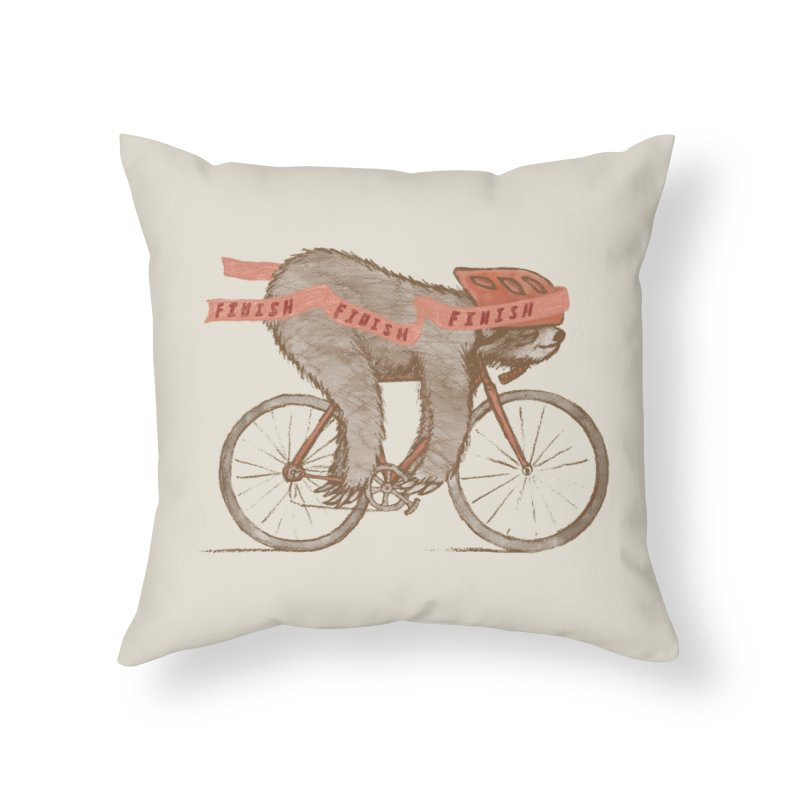 FINISH Home Throw Pillow by gotoup's Artist Shop