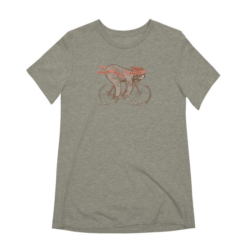 FINISH Women's Extra Soft T-Shirt by gotoup's Artist Shop