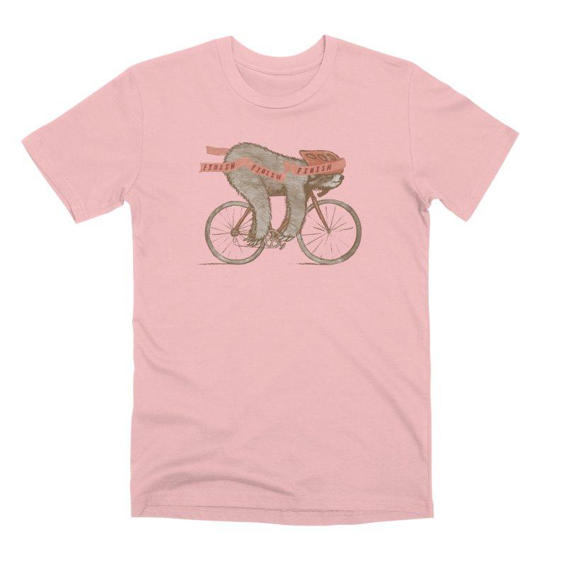 FINISH Men's Premium T-Shirt by gotoup's Artist Shop