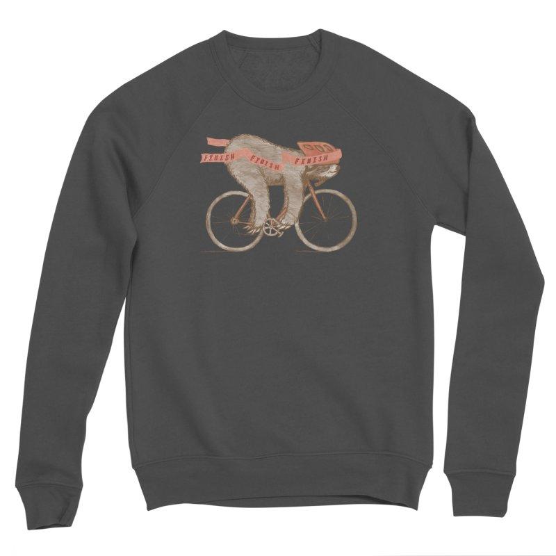 FINISH Men's Sponge Fleece Sweatshirt by gotoup's Artist Shop