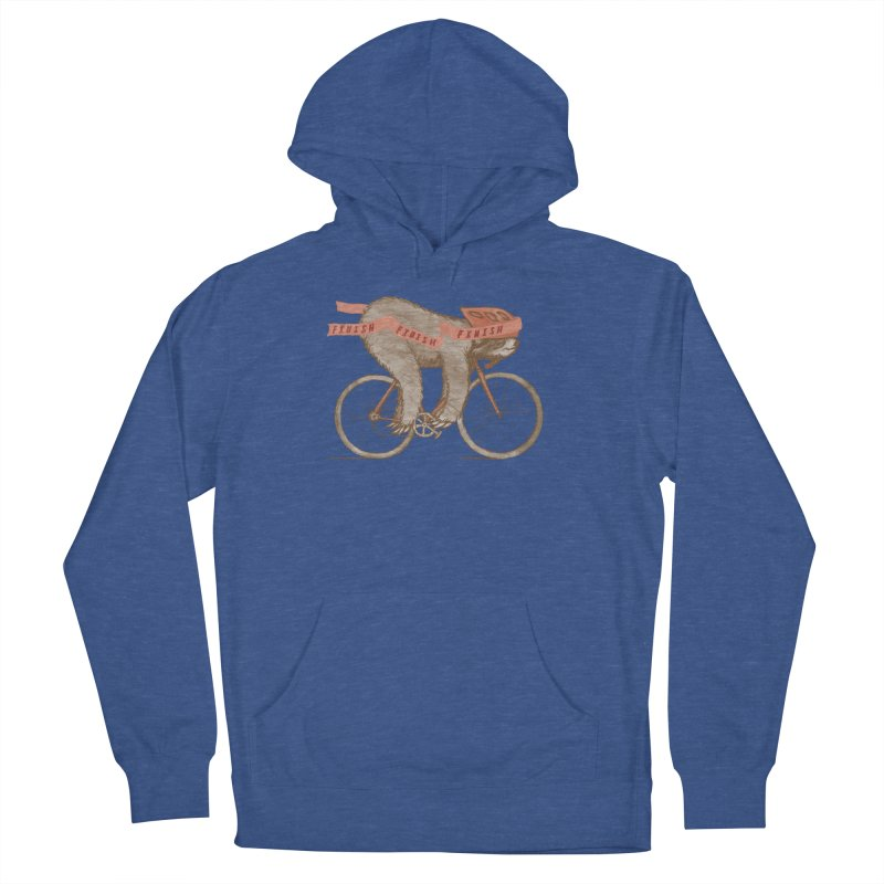 FINISH Men's French Terry Pullover Hoody by gotoup's Artist Shop
