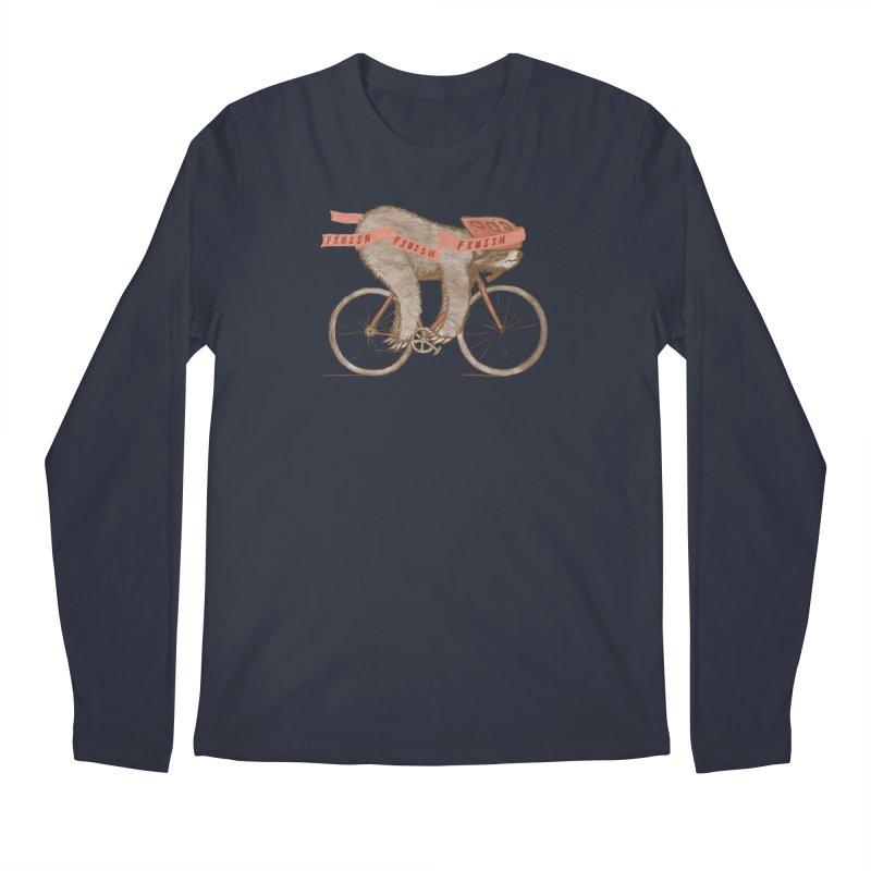 FINISH Men's Regular Longsleeve T-Shirt by gotoup's Artist Shop