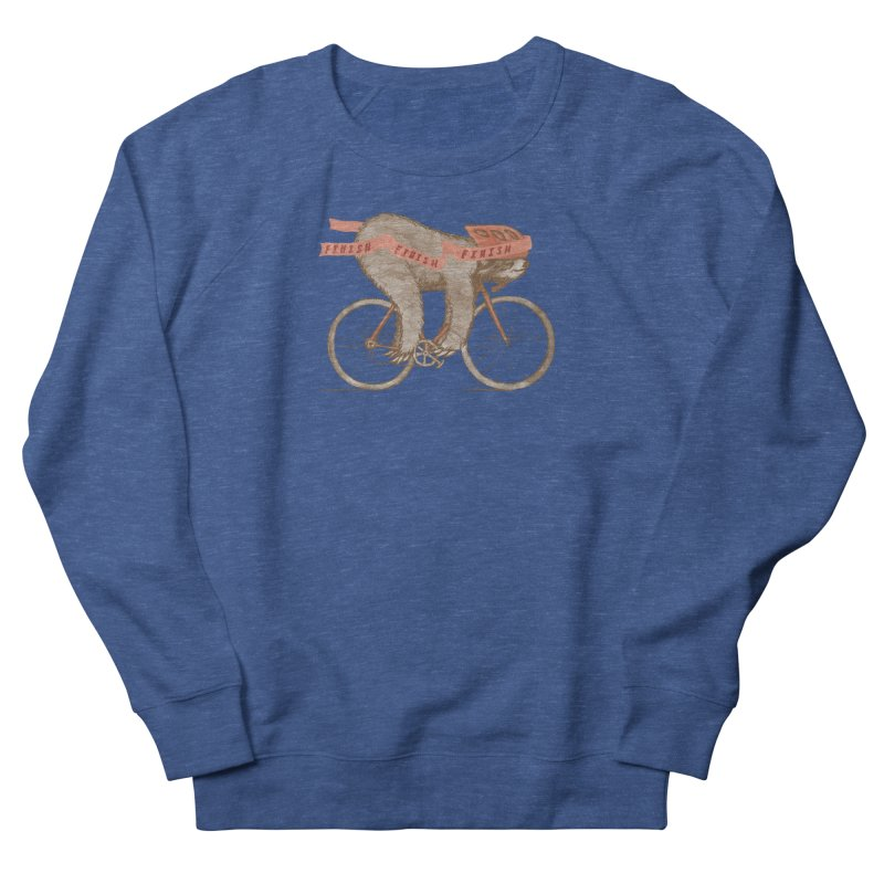 FINISH Women's French Terry Sweatshirt by gotoup's Artist Shop