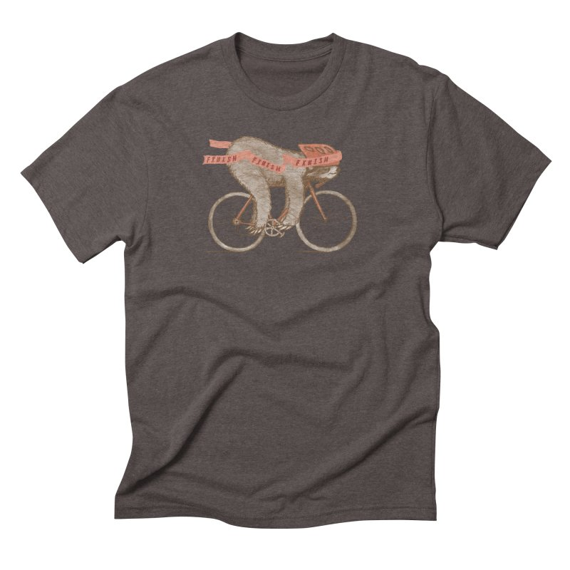 FINISH Men's Triblend T-Shirt by gotoup's Artist Shop