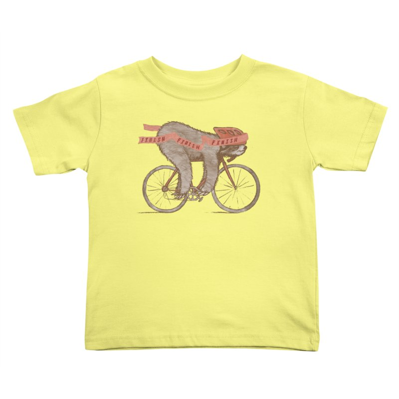 FINISH Kids Toddler T-Shirt by gotoup's Artist Shop