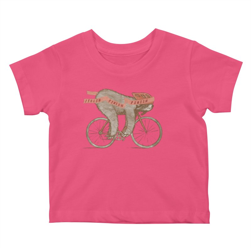 FINISH Kids Baby T-Shirt by gotoup's Artist Shop