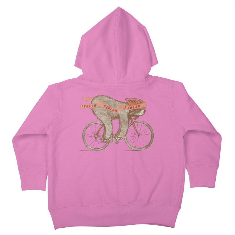 FINISH Kids Toddler Zip-Up Hoody by gotoup's Artist Shop