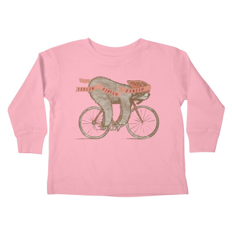 FINISH Kids Toddler Longsleeve T-Shirt by gotoup's Artist Shop